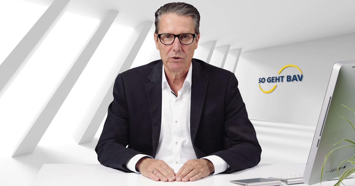 Webinar-Ankündigung im Video